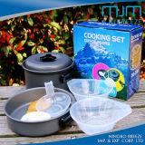 Heißer Verkaufs-im Freien Koch-Aluminiumwaren u. kochen Potenziometer für 1-2person