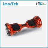 Smartek Le plus populaire Dessin Scooter Two Wheel Travel Skate Mobility Hoverboard Hiphop Graffiti Scooter Patinete Electrico avec haut-parleur Bluetooth S-002-Cn