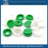 بيضاء أسود خضراء حجم [م3-م6] برغي إستعمال يغطّي بلاستيك /Plastic غطاء