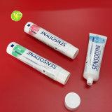 Tube de empaquetage d'Aluminium&Plastic pour la pâte dentifrice et la crème à raser