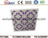 Vente de panneau de mur de PVC de tuiles de plafond de PVC en Irak 595mm, 600mm, 603mm