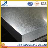 Plaque en acier galvanisée par qualité dans diverses tailles de Chine