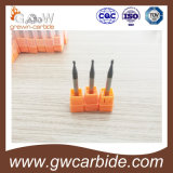 Tungsten Carbide Flat Square/Ball Nose End Mill with HRC50/60