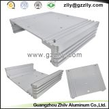 Perfil de aluminio/protuberancia de aluminio/disipador de calor de aluminio para el coche