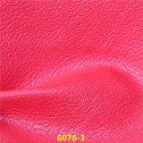 販売の方法Licheeの熱い穀物PUの物質的な靴甲革の革