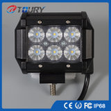 luz LED campo a través Worklight del trabajo del CREE LED de 12V 18W