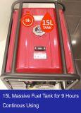 2.5kw 5.5HP 세륨 증명서를 가진 휴대용 가솔린 발전기
