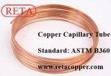 Tubo capillare di refrigerazione di ASTM B360