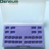Parentesi Bondable ortodontiche di Denrum con la FDA del Ce di iso