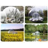 Tenda gonfiabile libera della bolla, tenda trasparente per fare pubblicità