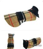 Couche extérieure de double d'usure d'animal familier de vêtements crabot latéral de laine de modèle