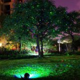 Outdoor Red Green Motion Star Projector Laser Shower Light with Photo Sensor