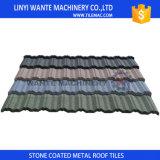 30 años de servicio de la vida de la varia piedra larga de los colores de Linyi Wante del metal de azulejos de azotea revestidos