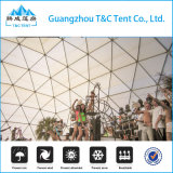 De grote Plastic Waterdichte Drinkbare Tent van het Huis van de Koepel van de Glasvezel voor het Banket van de Partij
