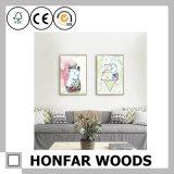 Bâti en bois de pays mignon/cadre de tableau art de mur