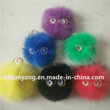 Волшебный декоративный шарик шерсти Fox для шарика шерсти норки украшения ключевой цепи