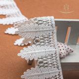 Hemline-Troddel-Spitze-Ordnung der Fußleiste fertigen moderne dekorative Spitze kundenspezifisch an