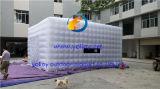 Aufblasbares Würfel-Film-Projektions-Zelt