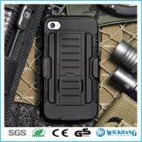 Rüstungs-hybrider Shockproof Riemen-Klipp-Pistolenhalfter-Kasten für iPhone 7/7 Plus