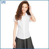 Девушки легкие для того чтобы проутюжить втулку крышки Revere рубашки ворота для школы Unfiorm