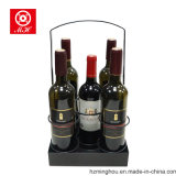 Neuer Entwurfs-Metallwein-Korb-Bierflasche-Halter mit Griff