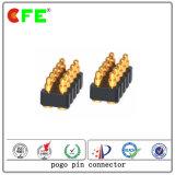 SMT doppelte Reihen-magnetischer federgelagerter KontaktPin