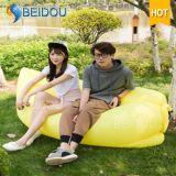 Einzelnes Mund-Hängematten-Luft-faules Sofa-aufblasbare Bananen-Schlafsäcke
