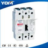 Caja moldeada de Disyuntor de interruptor (MCCB) DC MCCB Circuito