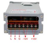 электропитание постоянн раковины Rainproof СИД напряжения тока 5V-200W алюминиевой
