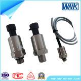 Sensore di pressione del tubo di acqua di basso costo 0-5V/0.5-4.5V/1-5V/4-20mA, diaframma di ceramica sanitario