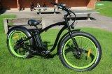 Роскошный тип велосипед En15194 крейсера пляжа 2017 тучной автошины электрический
