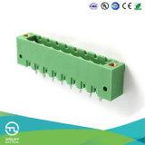 Utl 8 Pin rechtwinkliges PCB Stecker-Klemmenblöcke
