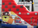 Diapositiva inflable de la diapositiva inflable del barco pirata (CV-A061)