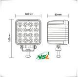 新しいデザインNsl 48Wのユニバーサル車のための作業ライト、SUV車自動LEDのライトのための16PCS*3W Epistarのオフロードライト