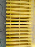 Reja de Pultruded de la fibra de vidrio, perfil de la extrusión por estirado de la fibra de vidrio, barandilla de FRP/GRP