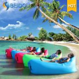 Faltbares Freizeit-Strand-Aufenthaltsraum-Bett-aufblasbares Luft-Sofa-kampierendes Bett