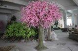 Напольный или крытый декоративный розовый/белый искусственний вал цветения вишни