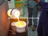 Oven van de Smeltkroes van de Inductie IGBT van de fabriek 16kw 2kg de Gouden Kleine