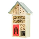Kundenspezifischer Firmenzeichen-Garten-hölzernes Insekt-Haus für Bienen-Basisrecheneinheit