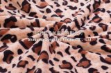 100% coperta di corallo del panno morbido del poliestere - stampa del leopardo
