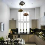 米国式のレトロのシャンデリアの装飾の居間のオフィス真鍮ガラスLEDの照明シャンデリア