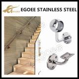 El acero inoxidable acorcheta el corchete del pasamano de la escalera para la barandilla