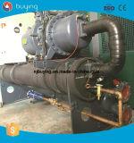 refrigerador refrigerado por agua del tornillo de 200kw 65HP 55ton para la fábrica de la maquinaria de la pintura