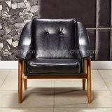 De comfortabele Zwarte Stoel van de Stoffering van de Rugleuning voor Woonkamer (SP-HC062)