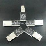 Vara do cristal USB3.0 Pendrive do disco instantâneo do USB do metal