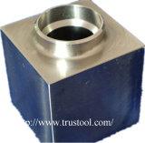 CNC que gira o CNC que mmói as peças do aço inoxidável
