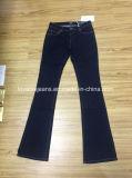 10.5oz de donkerblauwe Jeans van de Vrouw (HY5136-01)