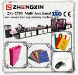 Saco em forma de caixa não tecido Pessoa-Querido que faz a máquina Zxl-C700