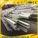 Het uitgedreven Spoor van de Gids van het Aluminium voor het Spoor van het Gordijn met de Uitdrijvingen van het Aluminium
