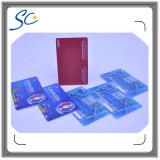 Schede di plastica di rivestimento opaco con il numero di stampa termica